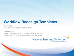 PPTX Workflow Redesign Templates Presentation