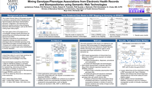 Mining Genotype-Phenotype Associations from Electronic Health