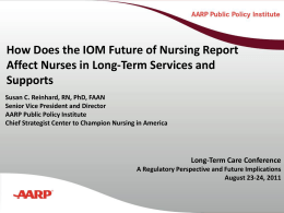 iom effects on nursing
