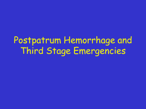 PPH and THIRD STAGE EMERGENCIESfinal