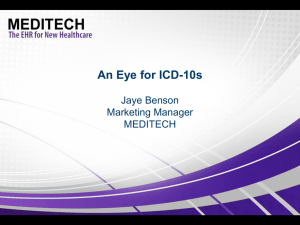 An Eye for ICD-10