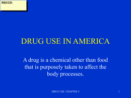drug use in america