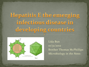 Hepatitis E vaccine, `Hecolin`