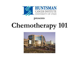 Chemotherapy or