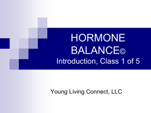 BALANCING HORMONES - Young Living Connect