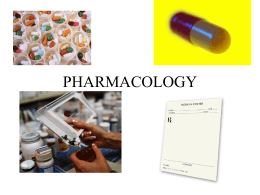 PHARMACOLOGY - Rissystreasures.com