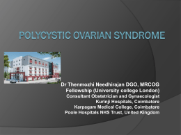 PCOS in Gynac View & Mirena - Nagercoil Obstetric and