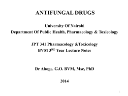 ppt - Department of Public Health Pharmacology & Tox.