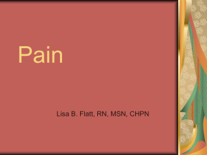Pain PowerPoint Slides