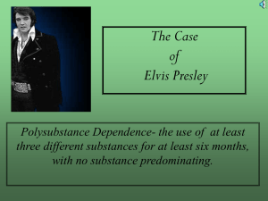 Elvis Presley - Behavioral & Social Sciences