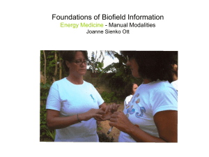 Foundations of Biofield Information Energy Medicine