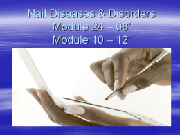 Nail Structure and Growth Module 21