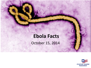 Ebola Facts: Hospital Preparedness Checklist