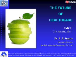 Future of Healthcare_RBS_20012011