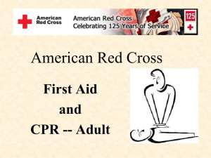 American Red Cross PPT