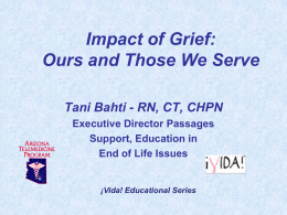 Impact of Grief - Presentation