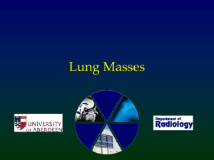 Lung Masses