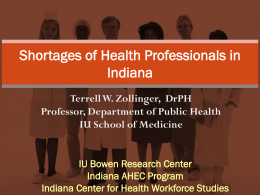 Resource - Indiana Rural Health Association