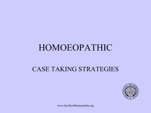 Homoeopathy - Like cures like