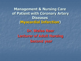 M yocardial infarction