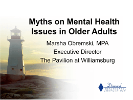 Myths - Senior Advocate Online