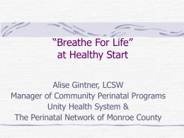 Breathe for Life- Smoking Cessation Through Stress Management