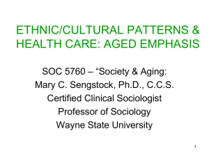 IMPACT OF CULTURAL PATTERNS ON HEALTH CARE