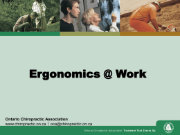 What is Ergonomics?