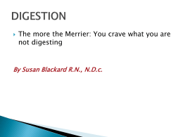 Digestion…PowerPoint