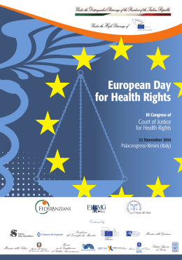 European Day for Health Rights