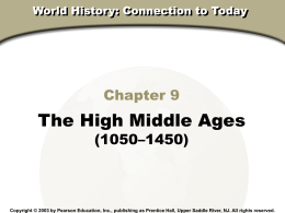 Chapter9TheHighMiddleAges