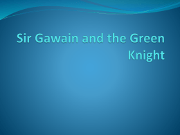 gawain essay