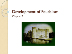 Development of Feudalism