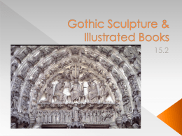 Gothic Sculpture & Illustrated Books