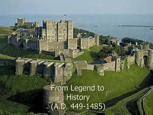From Legend to History (A.D. 449-1485)