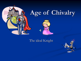 Age of Chivalry - Kenston Local Schools