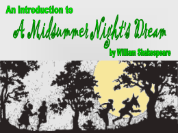 Please Help with research paper on A Midsummer Night's Dream!!!?