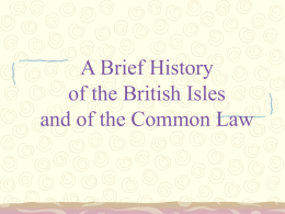 A Brief History of the British Isles
