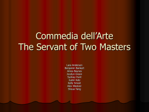 Commedia dell`Arte
