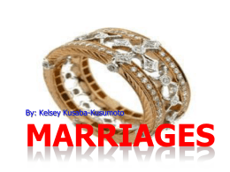 Kelsey–marriage
