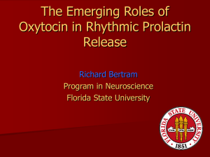 The Emerging Roles of Oxytocin in Rhythmic Prolactin Release