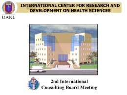 international center for research and development on health