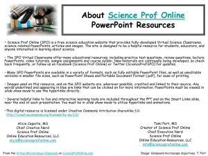 Editable PPT - Science Prof Online