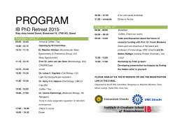 Program-IBretreat2015