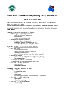 Basic Next Generation Sequencing (NGS) procedures