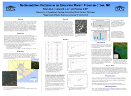 research poster - University of North Carolina Wilmington