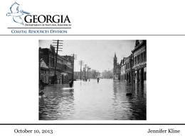 Climate Change Adaptation - Georgia Planning Association