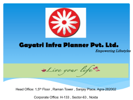Gayatri Life New Project in Noida