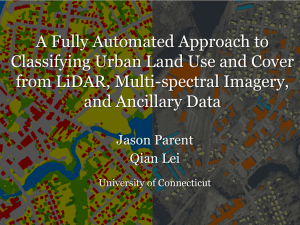 A Fully Automated Approach to Classifying Urban Land Use and