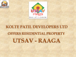 KOLTE PATIL DEVELOPERS LTD OFFERS
